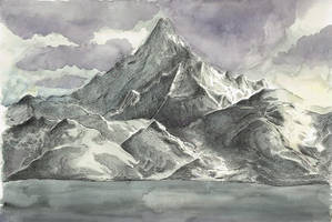 The Lonely Mountain by katfsh