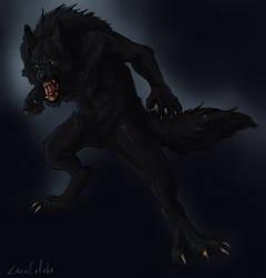 Werewolf- Anna Ivannov by larissa-the-hanyou