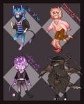 Sweets Adoptables (POINTS ONLY) (CLOSED) by MestariTheMoth