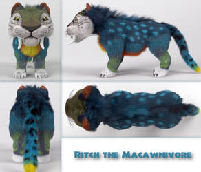 Ritch - Reference sheet by James3DArts