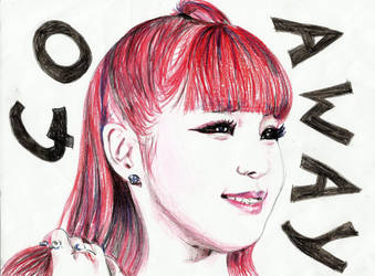 Park Bom in perncil crayon by topistops