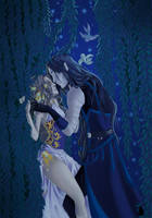 Fireflies by Aurelya-LB