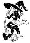 Inktober 31: Happy Halloween by xYaminogamex