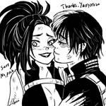 Todomomo: Thanks by xYaminogamex