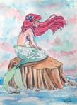 The Little Mermaid by xYaminogamex