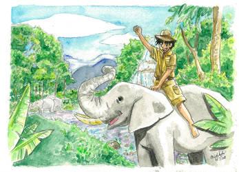Into the Jungle by xYaminogamex