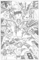 BATMAN family by ScottMcDaniel