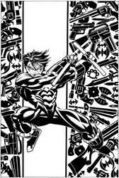 Nightwing Secret Files #1 Cover by ScottMcDaniel