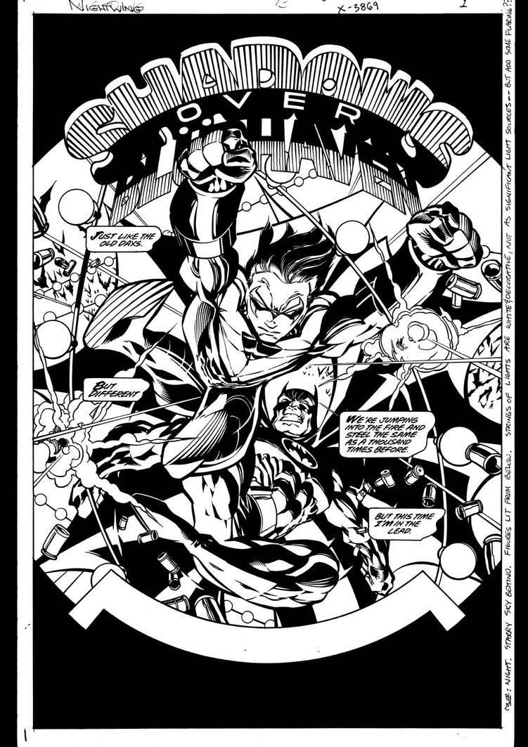 Nightwing #13 Page 1 by ScottMcDaniel