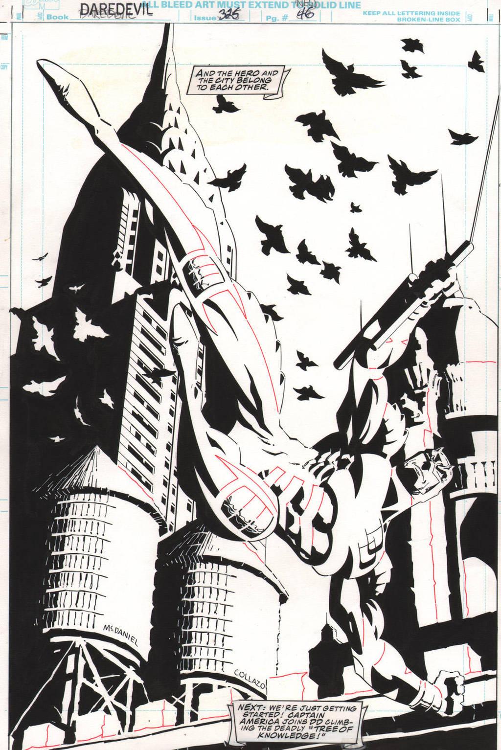 Daredevil #325 Page 46 by ScottMcDaniel