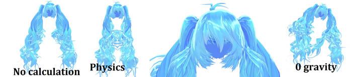 MMD - Edit - WIP - ULTRA CURLY TDA HAIR by LlneLi