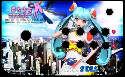 Kyodai Shoujo Miku Arcade Art (Saturn) by ChechelEXGBR