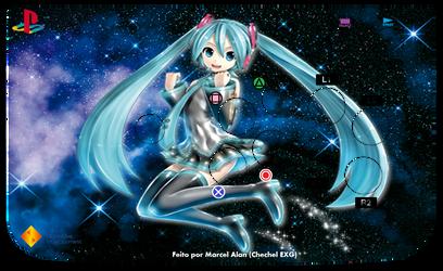 Miku Sweet Arcade Art (PS) by ChechelEXGBR