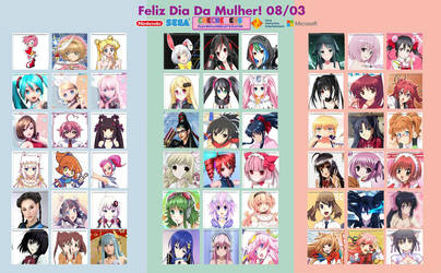 Anime International Women's Day by ChechelEXGBR