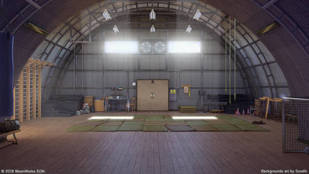 Old gym by Surafin