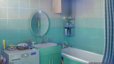 Bathroom by Surafin
