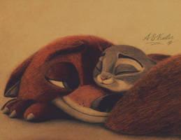 Sweet dreams, Judy by AndrejSKalin
