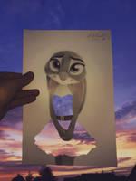 Judy Hopps artwork  by AndrejSKalin