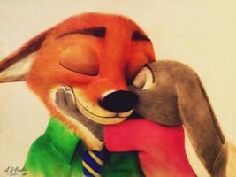 Nick and Judy  by AndrejSKalin