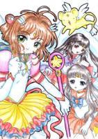 Sailor Sakura by GenkiTenshi