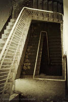 stairs in Beelitz 2 by kearone