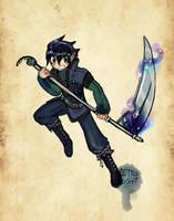 Zanko the Dual Souled Boy~ by Retro-Sushi