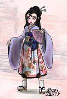 Lovely Lady of Lavender~ Amaya by Retro-Sushi