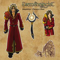 Jestarsizius Character Sheet by RennyManJr