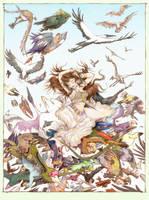 Feather Dancer by betta-girl