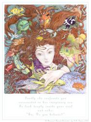 A Mermaid Named Bermuda by betta-girl