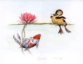 Duckweed by betta-girl