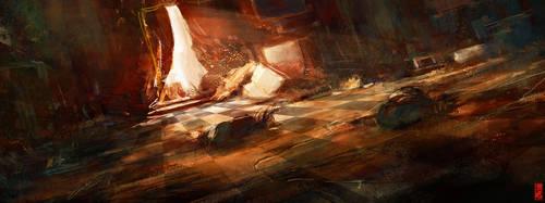 Destroyed Room 01 Speedy by TitusLunter