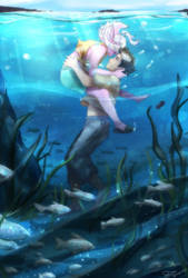 Underwater by SkyDrew