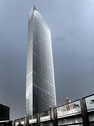 Dentsu Building by ayaseXD