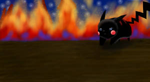 Black Pikachu by PipeDreamNo20