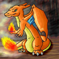 Skinny Charizard by PipeDreamNo20