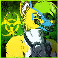 Icon Commission: Chikkennoodul by PinkScooby54