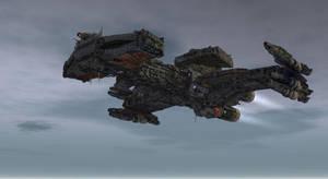 Hybrid Battlecruiser 1 by mhe608