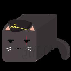 Kuu Cat Loofah by Lye-chii