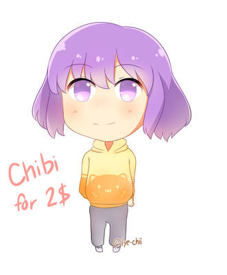 Simple Chibi Commission [OPEN] by Lye-chii