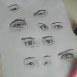 Eyes study by samui153