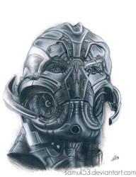 Ultron - Avengers : Age of Ultron by samui153