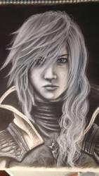 Lightning Return Final Fantasy Xiii - Charcoal by samui153