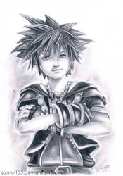 Sora - Kingdom Hearts III by samui153