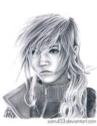 Claire Farron - Final Fantasy XIII by samui153