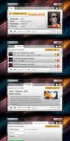 WeaReoNe.FM Player UI by dj-corny