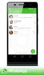 WhatsApp - Material UI Preview by dj-corny