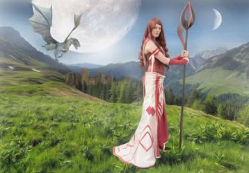ancient warrior by strachoo