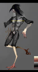Dark Harpy(Design trade) by TheSonNamedSet