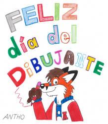 Feliz Dia del Dibujante by AnthoFur